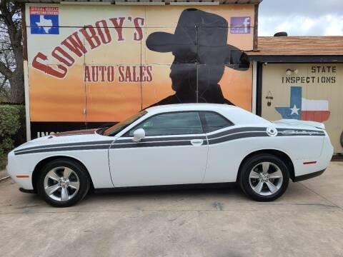 2019 Dodge Challenger for sale at Cowboy's Auto Sales in San Antonio TX
