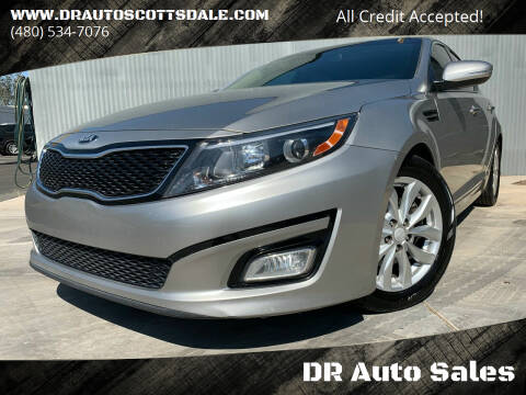 2015 Kia Optima for sale at DR Auto Sales in Scottsdale AZ