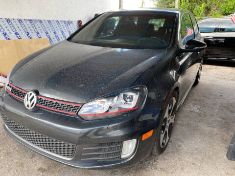 2012 Volkswagen GTI for sale at INTERNATIONAL AUTO BROKERS INC in Hollywood FL