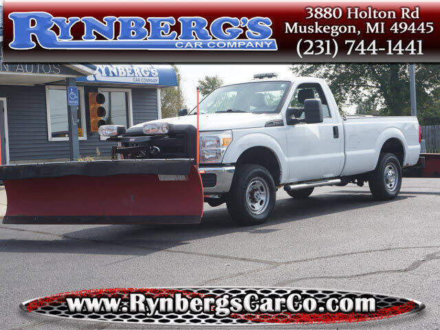 2011 Ford F-250 Super Duty for sale at Rynbergs Car Co in Muskegon MI
