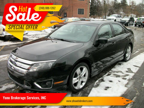 2010 Ford Fusion for sale at Yono Brokerage Services, INC in Farmington MI