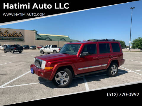 2010 Jeep Commander for sale at Hatimi Auto LLC in Buda TX
