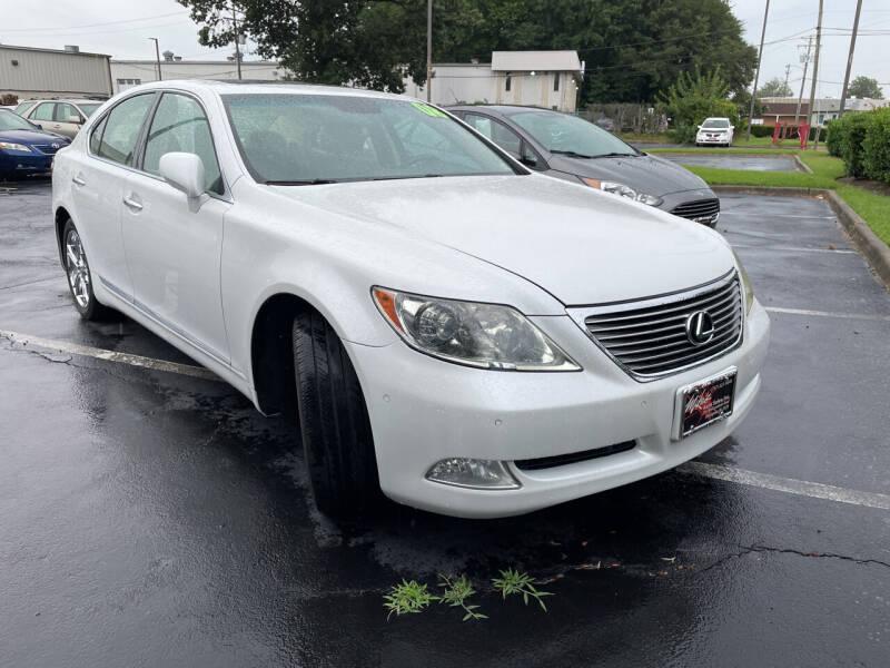 2008 Lexus LS 460 for sale at Mike's Auto Sales INC in Chesapeake VA