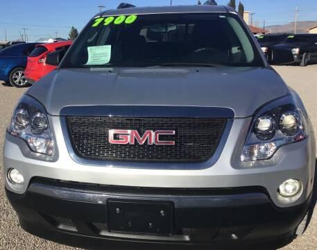 2009 GMC Acadia for sale at The Auto Shop in Alamogordo NM