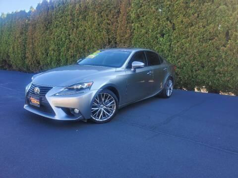 2014 Lexus IS 250 for sale at Yaktown Motors in Union Gap WA