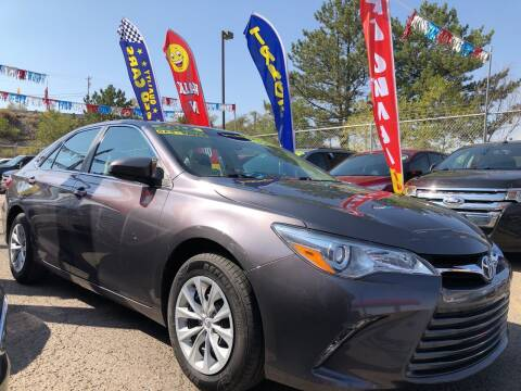 2015 Toyota Camry Hybrid for sale at Duke City Auto LLC in Gallup NM