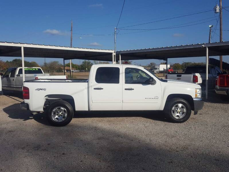 2013 Chevrolet Silverado 1500 for sale at Bostick's Auto & Truck Sales in Brownwood TX