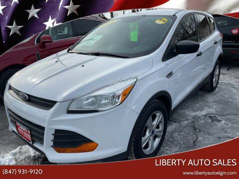 2016 Ford Escape for sale at Liberty Auto Sales in Elgin IL