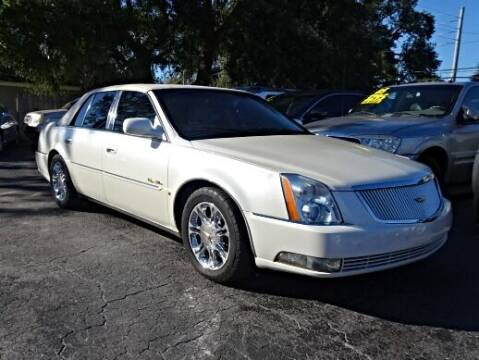 2008 Cadillac DTS for sale at DONNY MILLS AUTO SALES in Largo FL