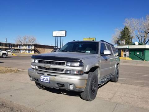 2005 Chevrolet Suburban for sale at Alpine Motors LLC in Laramie WY