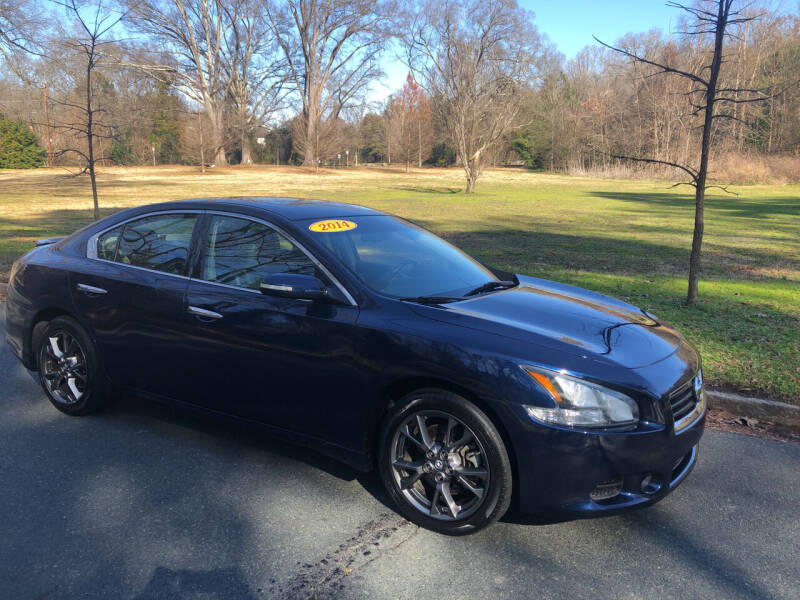 2014 Nissan Maxima for sale at Bull City Auto Sales and Finance in Durham NC