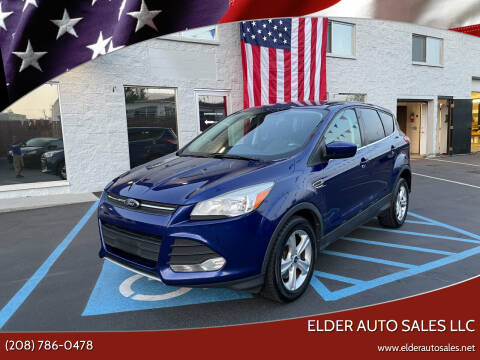 2014 Ford Escape for sale at ELDER AUTO SALES LLC in Coeur D'Alene ID