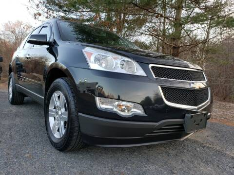 2012 Chevrolet Traverse for sale at Jacob's Auto Sales Inc in West Bridgewater MA