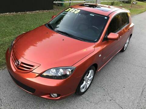 2004 Mazda MAZDA3 for sale at LA Motors Miami in Miami FL