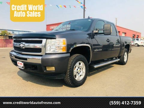 2010 Chevrolet Silverado 1500 for sale at Credit World Auto Sales in Fresno CA