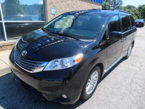 2017 Toyota Sienna for sale at Southern Auto Solutions - 1st Choice Autos in Marietta GA