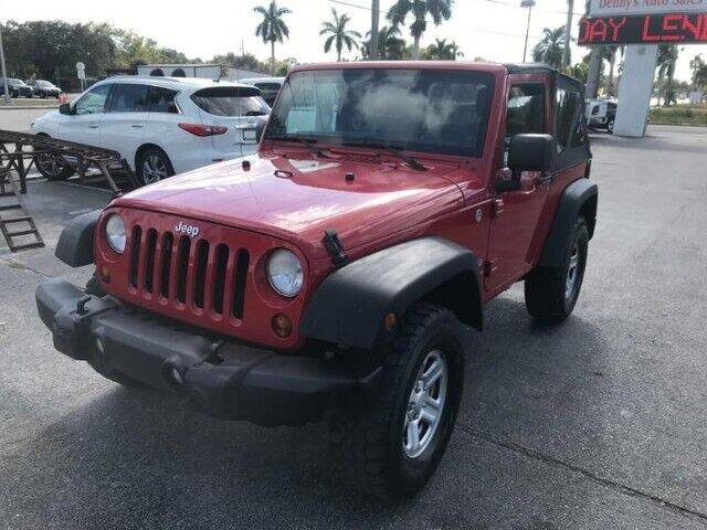 2012 Jeep Wrangler for sale at Denny's Auto Sales in Fort Myers FL