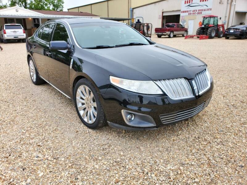 2012 Lincoln MKS for sale at Community Auto Specialist in Gonzales LA