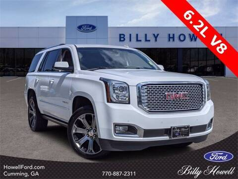 2017 GMC Yukon for sale at BILLY HOWELL FORD LINCOLN in Cumming GA