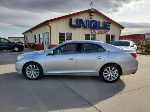 "2016 Chevrolet Malibu Limited for sale at UNIQUE AUTOMOTIVE ""BE UNIQUE"" in Garden City KS"