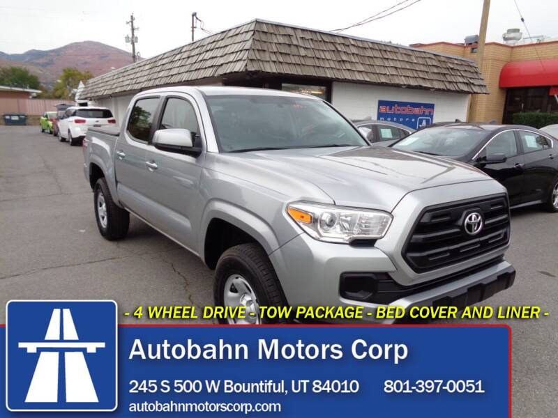 2017 Toyota Tacoma for sale at Autobahn Motors Corp in Bountiful UT