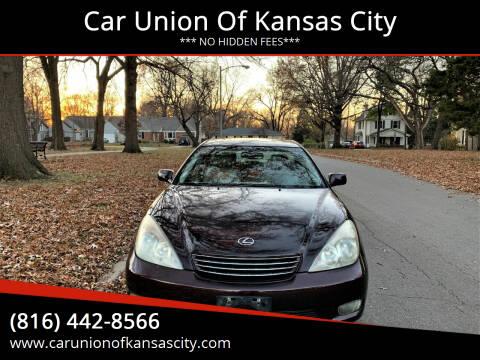 2002 Lexus ES 300 for sale at Car Union Of Kansas City in Kansas City MO