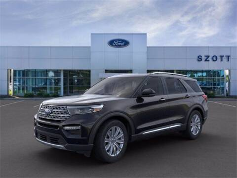 2021 Ford Explorer Hybrid for sale at Szott Ford in Holly MI