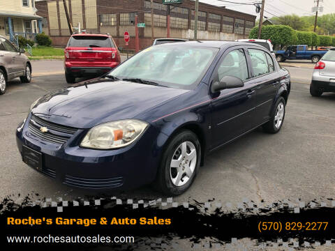2008 Chevrolet Cobalt for sale at Roche's Garage & Auto Sales in Wilkes-Barre PA