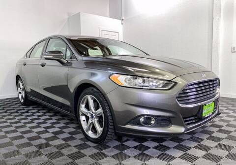 2014 Ford Fusion for sale at Sunset Auto Wholesale in Tacoma WA