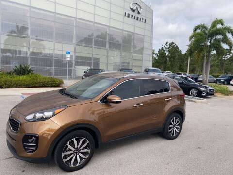 2018 Kia Sportage for sale at Infiniti Stuart in Stuart FL