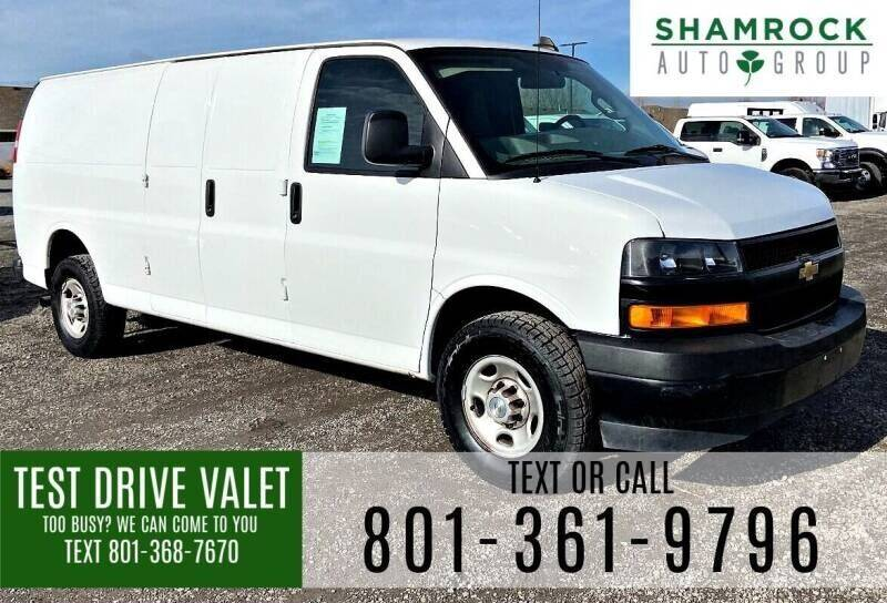 2020 Chevrolet Express Cargo for sale at Shamrock Group LLC #1 in Pleasant Grove UT