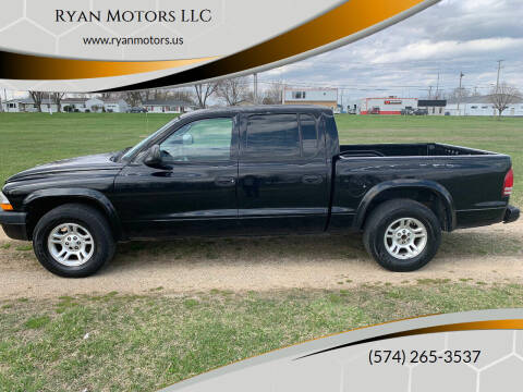 2002 Dodge Dakota for sale at Ryan Motors LLC in Warsaw IN