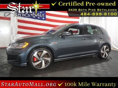 2020 Volkswagen Golf GTI for sale at STAR AUTO MALL 512 in Bethlehem PA