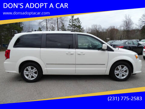 2013 Dodge Grand Caravan for sale at DON'S ADOPT A CAR in Cadillac MI