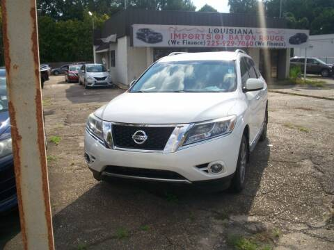 2013 Nissan Pathfinder for sale at Louisiana Imports in Baton Rouge LA