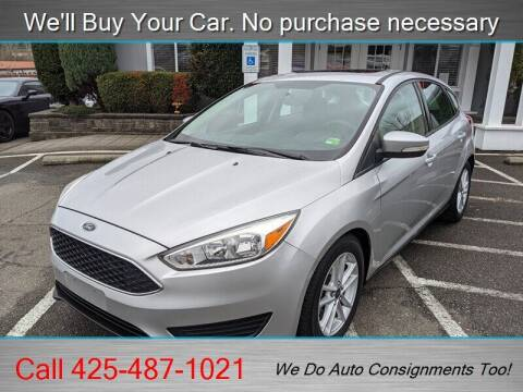 2015 Ford Focus for sale at Platinum Autos in Woodinville WA