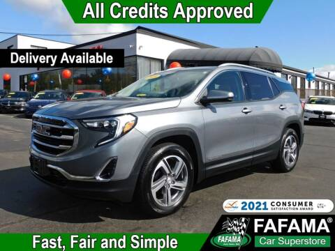 2019 GMC Terrain for sale at FAFAMA AUTO SALES Inc in Milford MA