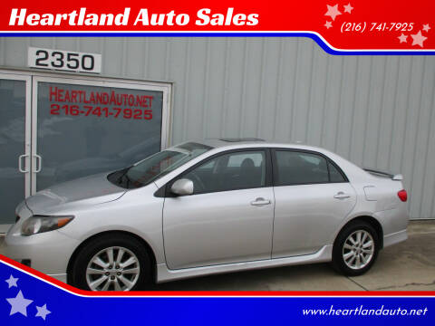 2010 Toyota Corolla for sale at Heartland Auto Sales in Medina OH