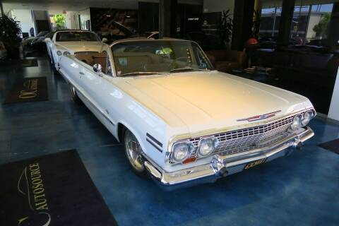 1963 Chevrolet Impala for sale at OC Autosource in Costa Mesa CA