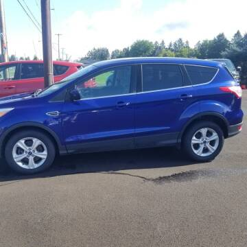 2014 Ford Escape for sale at MGM Auto Sales in Cortland NY