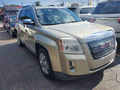 2013 GMC Terrain for sale at America Auto Wholesale Inc in Miami FL