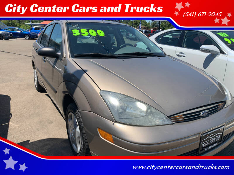 2003 Ford Focus for sale at City Center Cars and Trucks in Roseburg OR