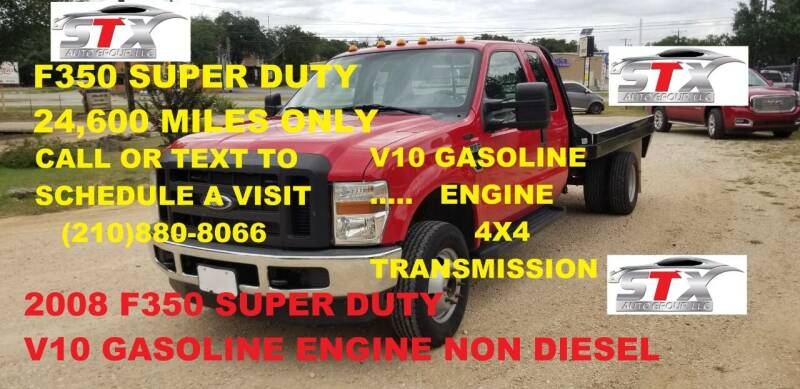 2008 Ford F-350 Super Duty for sale at STX Auto Group in San Antonio TX