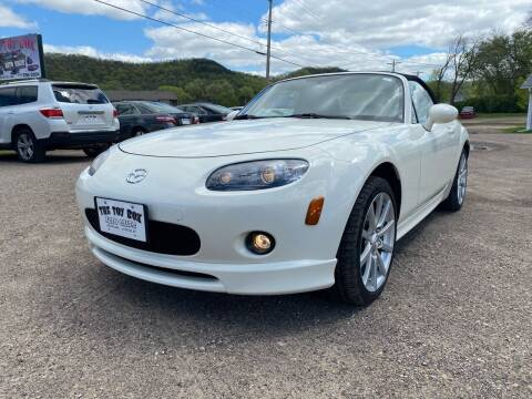 2008 Mazda MX-5 Miata for sale at Toy Box Auto Sales LLC in La Crosse WI