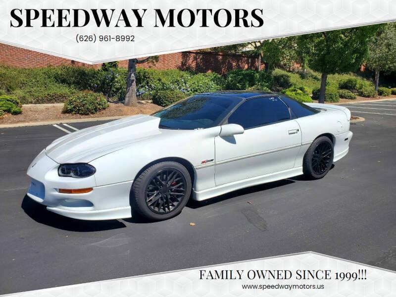 2001 Chevrolet Camaro for sale at Speedway Motors in Glendora CA