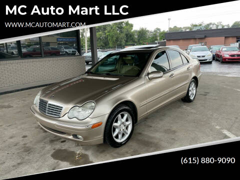 2001 Mercedes-Benz C-Class for sale at MC Auto Mart LLC in Hermitage TN