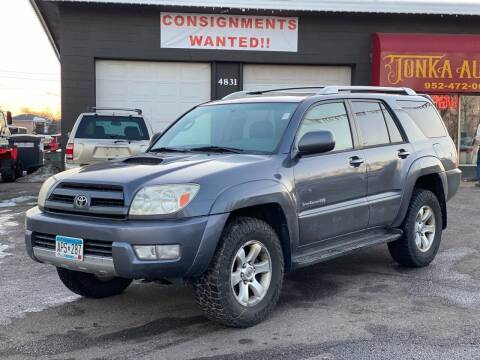 2004 Toyota 4Runner for sale at Tonka Auto & Truck in Mound MN