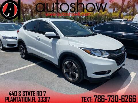 2018 Honda HR-V for sale at AUTOSHOW SALES & SERVICE in Plantation FL