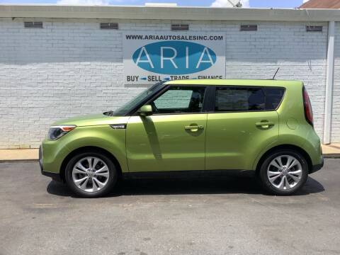 2015 Kia Soul for sale at ARIA  AUTO  SALES in Raleigh NC