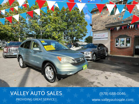 2011 Honda CR-V for sale at VALLEY AUTO SALES in Methuen MA
